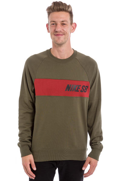 Nike SB Everett Graphic Sweatshirt (cargo khaki)