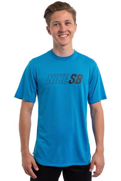 Nike SB Skyline Dri-FIT Cool T-Shirt (light photo blue obsidian)