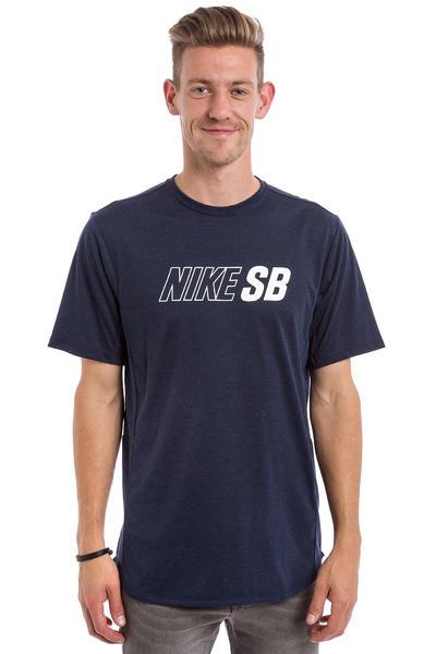 Nike SB Skyline Dri-FIT Cool T-Shirt (obsidian heather white)