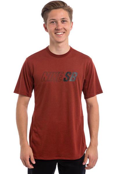 Nike SB Skyline Dri-FIT T-Shirt (dark cayenne)