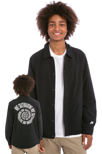 Nike SB Coaches Jacket (black white)