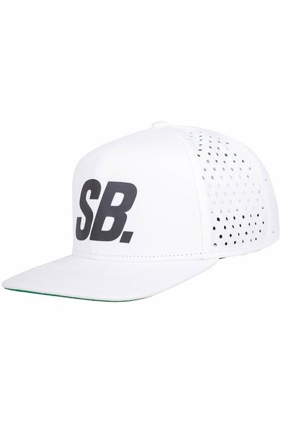 Nike SB Reflect Performance Trucker Cap (white black)