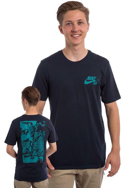 Nike SB Ripped T-Shirt (obsidian)