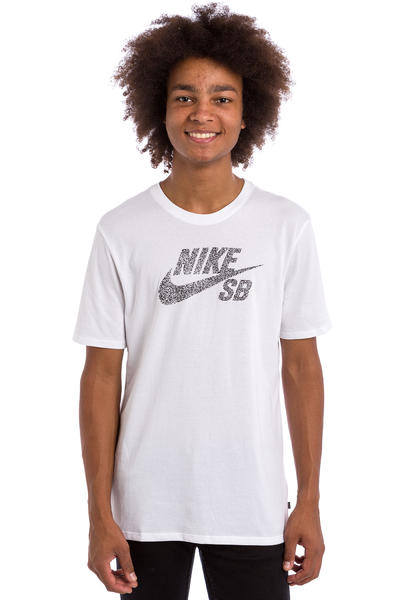 Nike SB Icon Dots T-Shirt (white black)