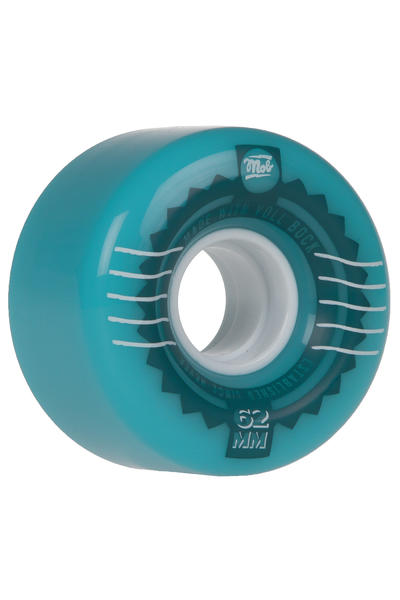 MOB Skateboards Stamps 62mm 78A Rollen (blue) 4er Pack