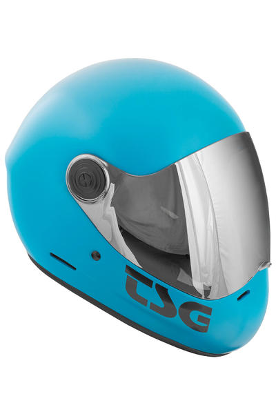 TSG Pass Solid Color Helm (satin dark cyan)