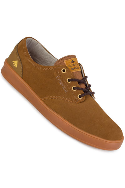 Emerica The Romero Laced Schuh (brown gum brown)