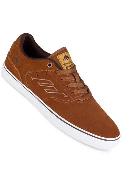 Emerica The Reynolds Low Vulc Schuh (brown white gum)