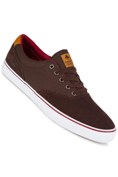 Emerica The Provost Slim Vulc Schuh (brown white)