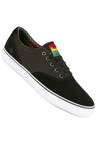 Emerica The Provost Slim Vulc Schuh (black white green)