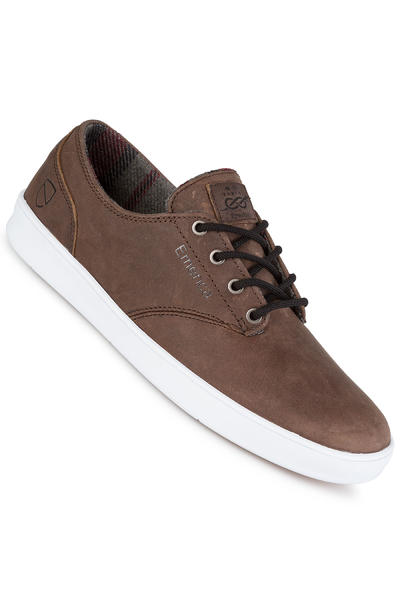 Emerica x Eswic The Romero Laced Schuh (brown white)