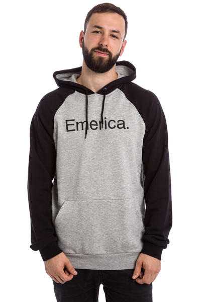 Emerica Purity Raglan Hoodie (black grey)