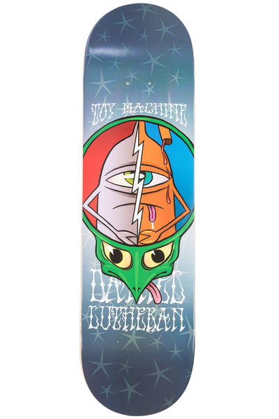 "Toy Machine Lutheran Turtlehead 8.5"" Planche Skate (multi)"