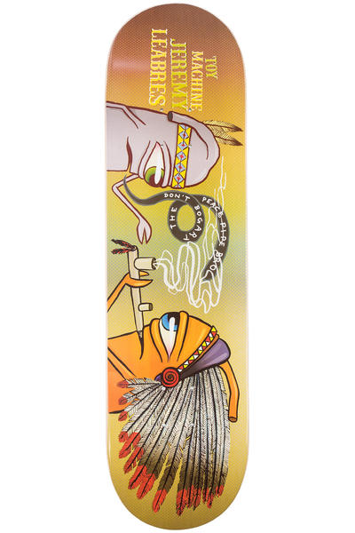 "Toy Machine Leabres Peace Pipe 8.25"" Deck (multi)"
