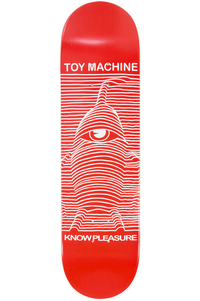 "Toy Machine Toy Division 8.25"" Deck (red)"