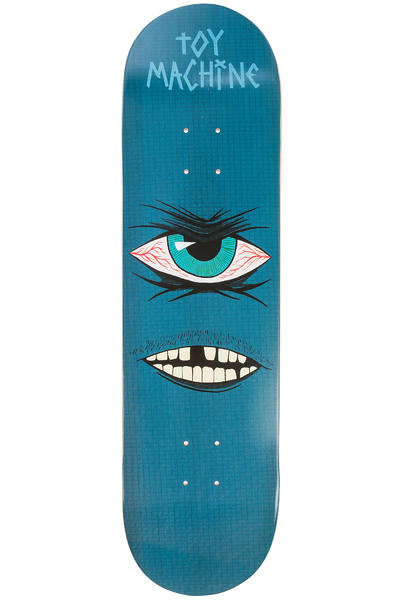 "Toy Machine Sect Eye Toothless 8.25"" Deck (blue)"