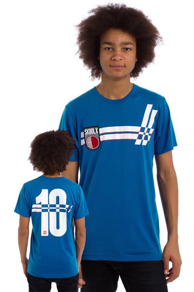 SK8DLX Soccer Jersey T-Shirt (blue)