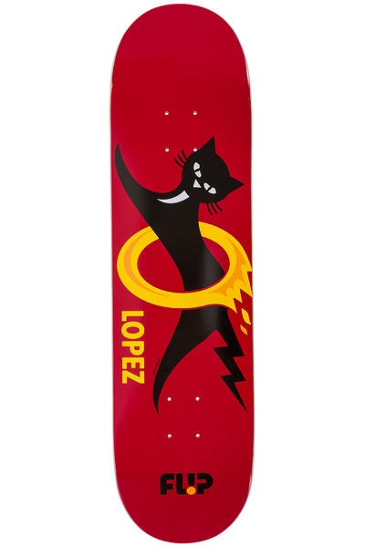 "Flip Lopez Black Cat 8.25"" Deck (red)"