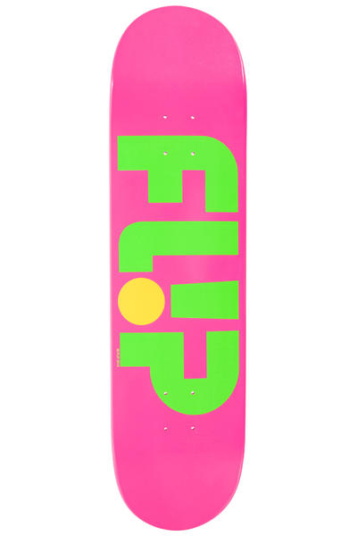 "Flip Team Odyssey Logo Day Glo 8"" Deck (pink)"