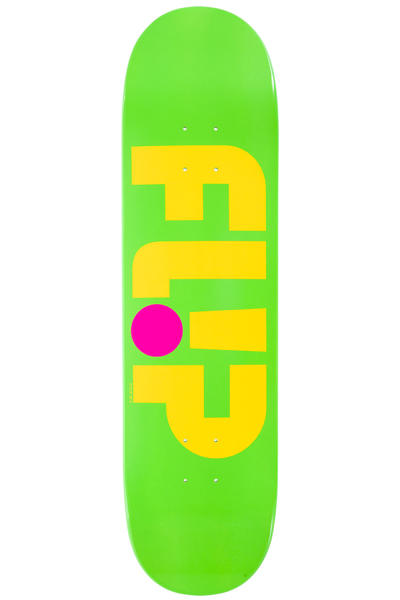"Flip Team Odyssey Logo Day Glo 8.125"" Deck (green)"