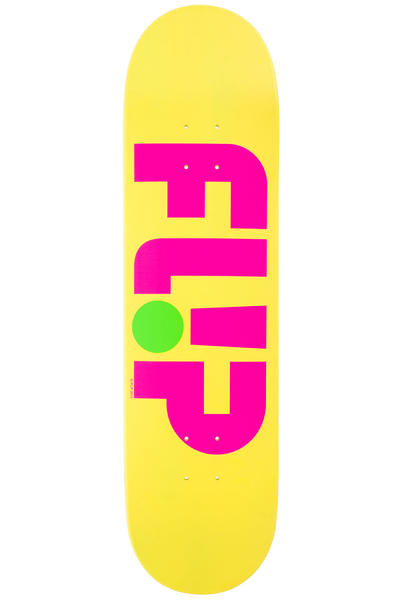 "Flip Team Odyssey Logo Day Glo 8.25"" Deck (yellow)"