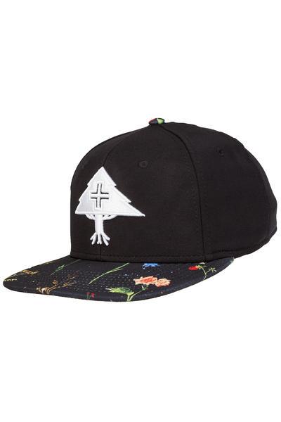 LRG Splatter Floral Snapback Cap (black)