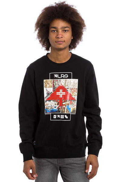 LRG Striped Sweatshirt (black)