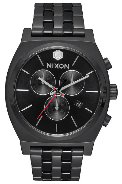 Nixon x Star Wars Kylo Ren The Time Teller Chrono Watch (black)