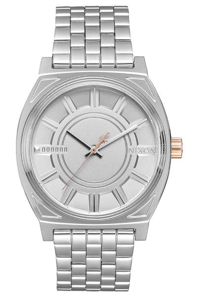 Nixon x Star Wars Captain Phasma The Time Teller Watch (silver)