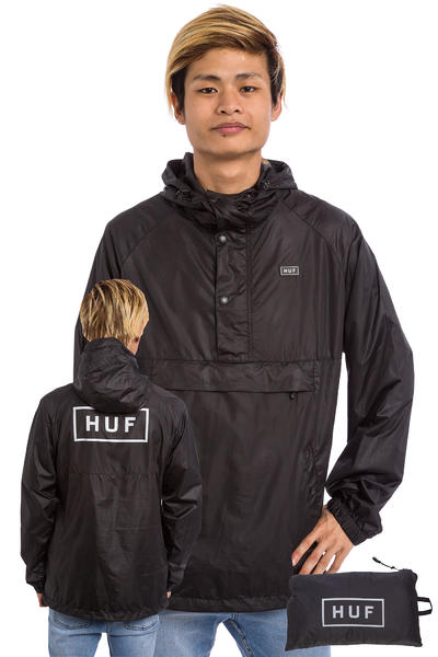 HUF Adapt Packable Jacket (black)
