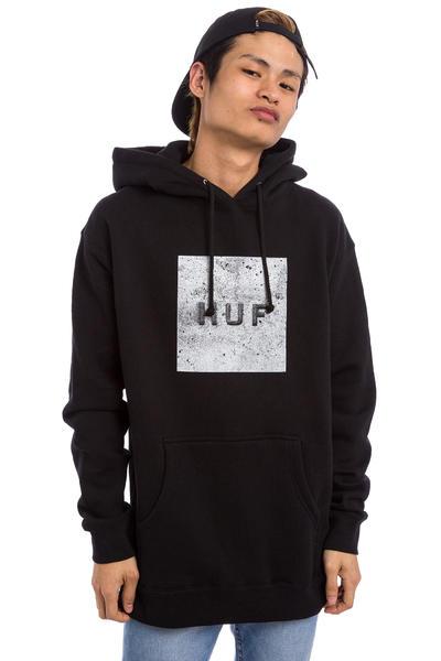 HUF Concrete Box Logo Hoodie (black)