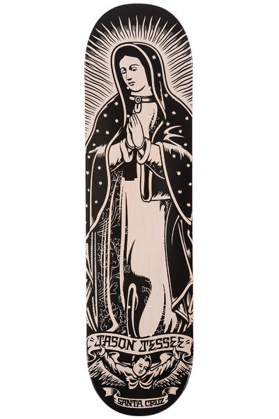 "Santa Cruz Jessee Guadalupe 8.2"" Deck (white wash black)"
