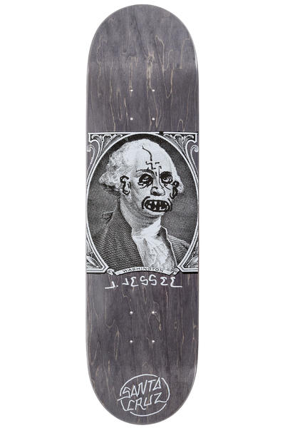 "Santa Cruz Jessee Boner Dollar 8.5"" Deck (black)"