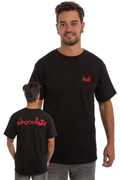 HUF x Chocolate Chunk T-Shirt (black)