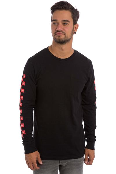 HUF x Chocolate Checkered Longsleeve (black)