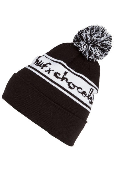 HUF x Chocolate Chunk Pom Mütze (black)