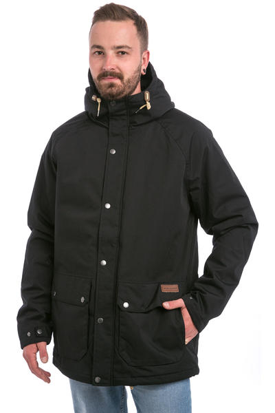 Volcom Wenson Winter Parka Jacket (black)