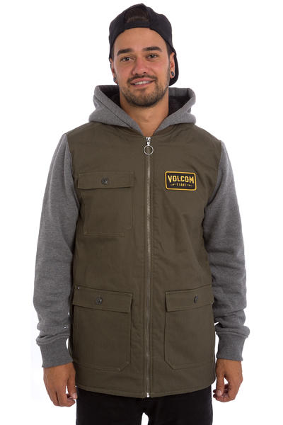 Volcom Battalion Lined Jacke (military)