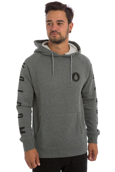 Volcom Stone Pack Hoodie (heather grey)