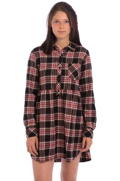 Volcom Cozy Day Kleid women (black combo)