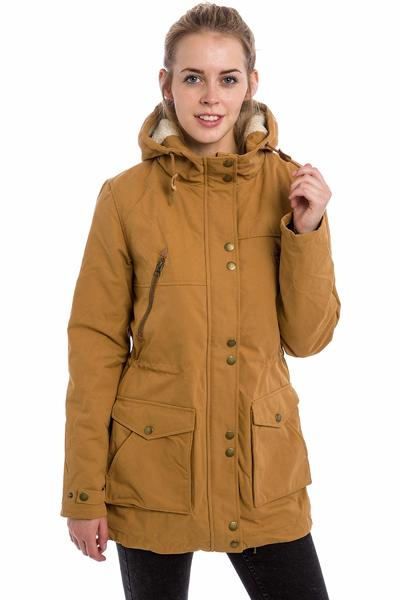 Volcom Walk On By Parka Jacke women (bear brown)