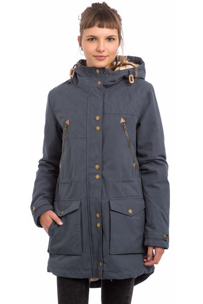 Volcom Walk On By Parka Jacket women (dark navy)