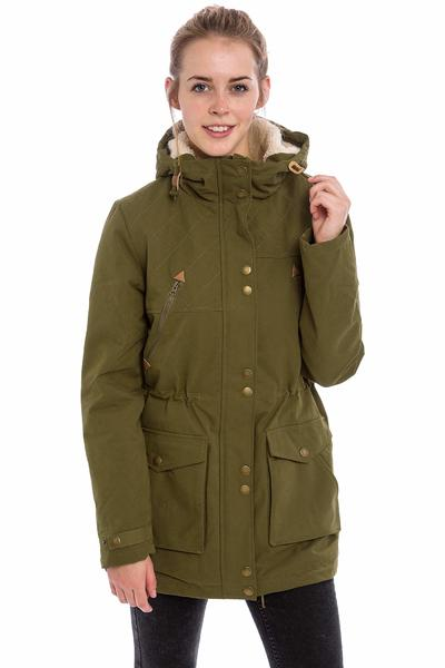 Volcom Walk On By Parka Jacke women (lentil green)