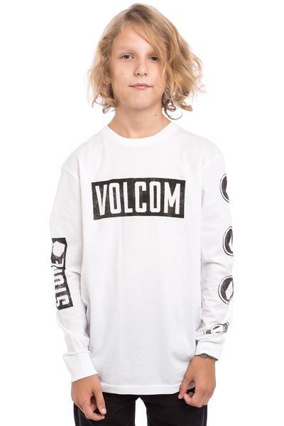 Volcom Knock BSC Longues Manches kids (white)