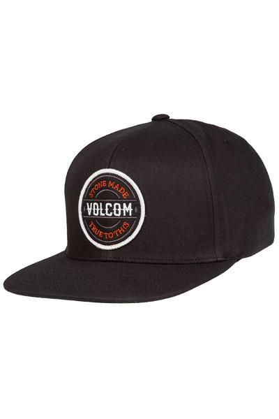 Volcom Cresticle Snapback Cap (asphalt black)