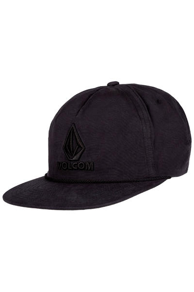 Volcom Marker Snapback Cap (ink black)