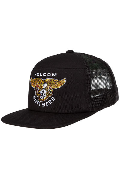 Volcom x Anti Hero Hash Stash Trucker Cap (black)