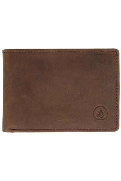 Volcom Leather Wallet (brown)