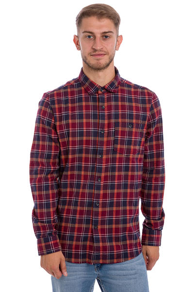Volcom x Anti Hero Flanellhemd (plum)