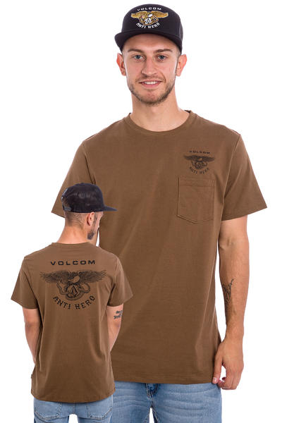 Volcom x Anti Hero PKT T-Shirt (mud)
